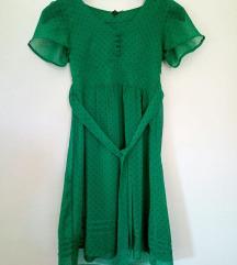 Divided predivna zelena haljina