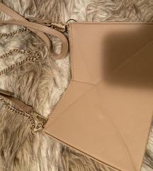 Zara krem torba