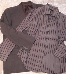 Sako i košulja za muškarce L
