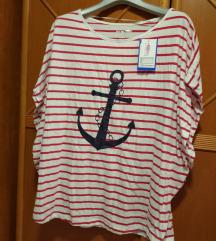 Nova mornarska majica S-M