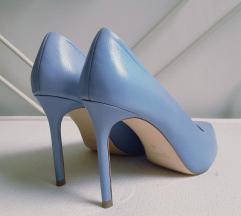 🖤 ZARA plave štikle/cipele 40