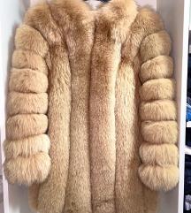 Luksuzna bunda od pravog krzna