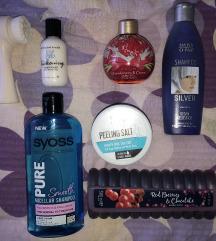 Komplet kozmetike za tijelo (17 proizvoda)
