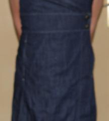 traper haljina na preklop