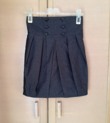 Miss Selfridge siva suknja 34