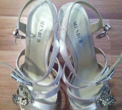 Sniženje! Menbur svečane vjenčane cipele sandale