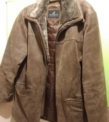 Muška jakna od brušene kože