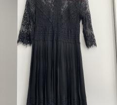 Zara haljina sa čipkom