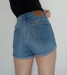 Zara kratke hlačice-visoki struk