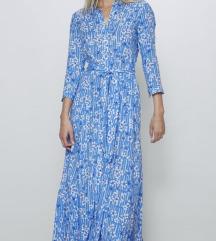 Midi Zara  haljina cvjetnog uzorka