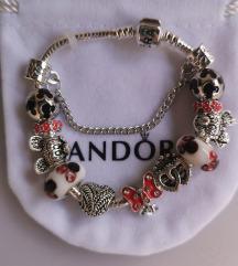 Pandora narukvica, Disney, šarena , nova