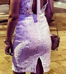 Bijela haljina od čipke br.s-m