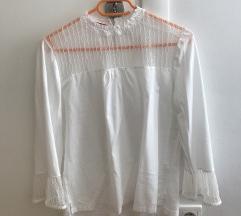 S.Oliver bijela bluza s čipkom