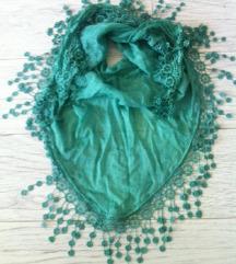 Zelena ljetna marama (šal)