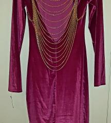 💥NOVO💥 Plisana haljina, s etiketom jos