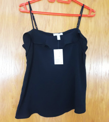 H&M nova crna majica
