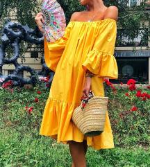 Nina Sew haljina volan žuta