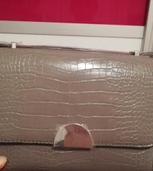 Mango torba s efektom krokodilske kože
