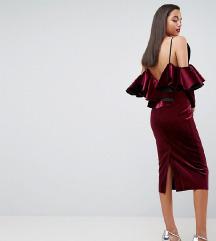 Asos haljina s volanima i otvorenim leđima