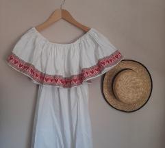 Kaviy Couture haljina golih ramena - SAMO BIJELA