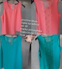 Ljetne prozirne bluze