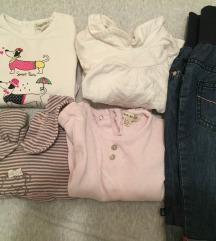 LOT - Okaidi hlače + 4 majice