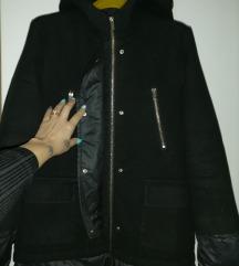 Strukirana jakna kaput(zimska)36 vel