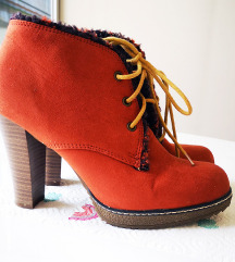 Humanic toplo narančaste čizme