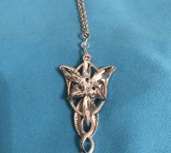 Lord of the Rings Arwen Evenstar ogrlica