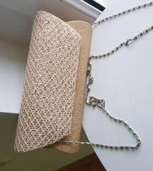 Svečana zlatna torbica