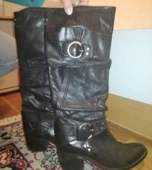 Crne čizme,cawboy stile