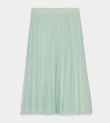 Mint plisirana suknja