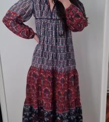 Boho duga haljina