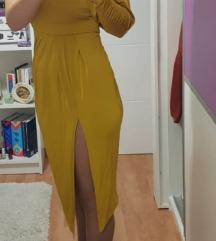 Asos nova žuta haljina