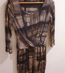 Max Mara haljina od svile i pamuka