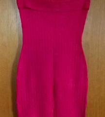 NOVO Ružičasta uska haljina