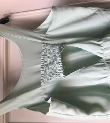H&M Haljina boje pistacije