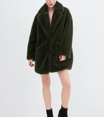 Zara krznena bunda