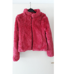 H&M ženska roza bunda