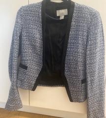 Plavo-crni sako od tvida