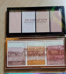Nove Revolution palete za lice
