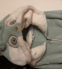 Plišana (teddy) jakna dve boje