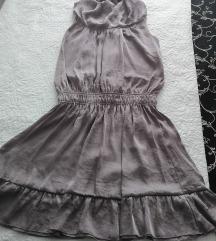 Sisley roza haljina