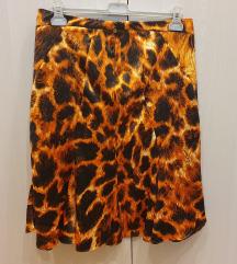 Just Cavalli suknja životinjski uzorak