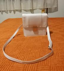 Bijela H&M torbica