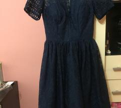 ASOS haljina tamnoplava