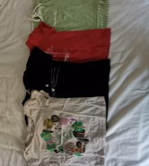 Majice kratkih rukava, lot, vel 104