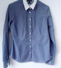 TOMMY HILFIGER plava košulja na bijele pruge 34