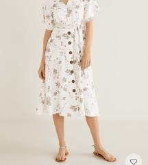 Mango haljina xs, pt Tiskom uključena u cijenu