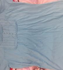 TIRKIZNO PLAVA, majica, 100 % pamuk+elastin